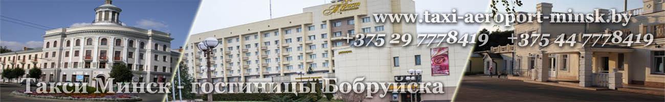 Заказать онлайн такси Минск Бобруйск